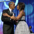 Michelle et Barack Obama à Washington, le 21 septembre 2013.