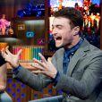 Daniel Radcliffe au Watch What Happens Live d'Andy Cohen.
