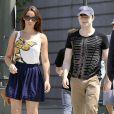 Daniel Radcliffe avec une girlfriend, Rosanne Coker, 22 ans, à New York le 18 août 2011.