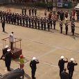 Reportage du Sydney Morning Herald sur la venue du prince Harry en octobre 2013 pour le centenaire de la Marine royale australienne.