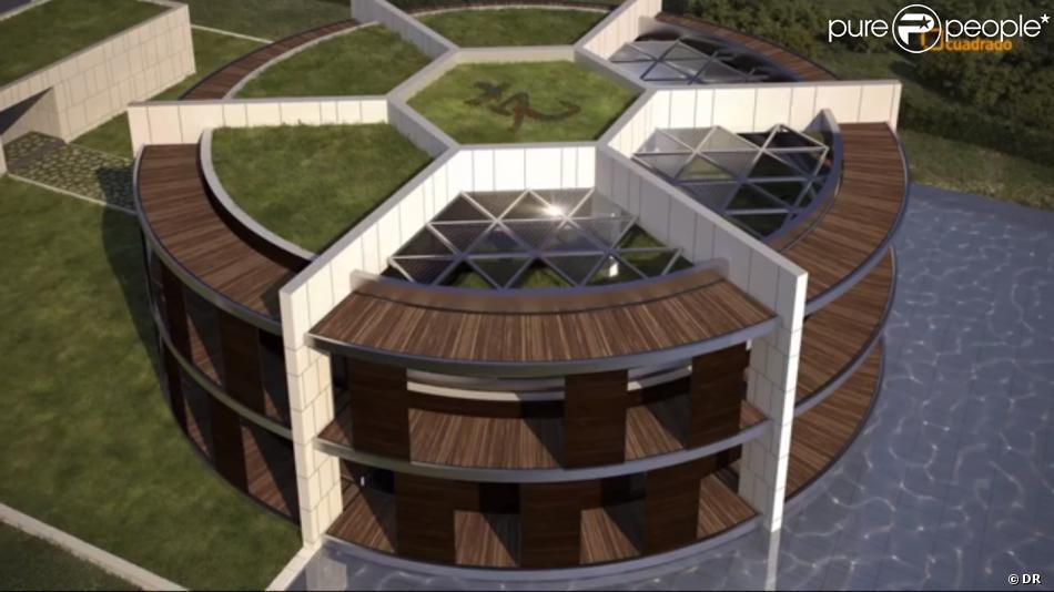 la future maison de la star du foot lionel messi barcelone octobre 2013. Black Bedroom Furniture Sets. Home Design Ideas