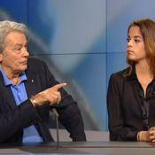 Alain Delon tacle son fils devant Anouchka : 'Anthony ferait mieux de la fermer'