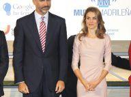 Letizia d'Espagne : Glamour et romantique au bras du prince Felipe, elle éblouit