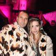 Zinedine Soualem et Tristane Banon lors de la soirée Les Ambassadeurs au château de Vincennes, à Vincennes le 12 octobre 2013