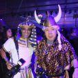 Rachid Bellak et Fok Kan lors de la soirée Les Ambassadeurs au château de Vincennes, à Vincennes le 12 octobre 2013