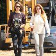 Jessica Alba et sa fille Honor passent la journée au Mr Bones Pumpkin Patch à West Hollywood, le 13 octobre 2013.