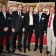 Nathalie Kosciusko-Morizet lors de la 2ème édition du Pot-au-feu des célébrités au restaurant le Louchebem, organisée par les Fédérations des Artisans Bouchers d'Ile-de-France à Paris le 17 octobre 2013