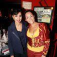 Rachida Dati et Hermine de Clermont-Tonnerre lors de la 2ème édition du Pot-au-feu des célébrités au restaurant le Louchebem, organisée par les Fédérations des Artisans Bouchers d'Ile-de-France à Paris le 17 octobre 2013