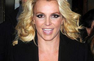 Britney Spears : Sans soutien-gorge dans le froid de Londres...
