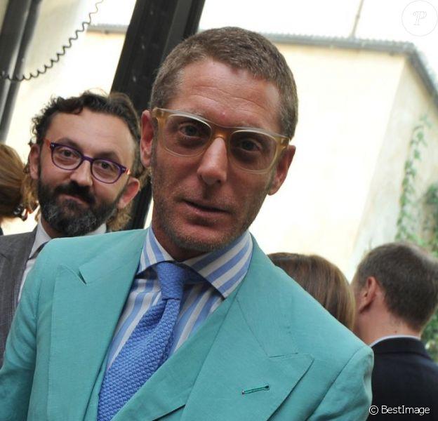 Lapo Elkann à Milan le 20 septembre 2013