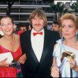 Sophie Marceau, Gérard Depardieu et Catherine Deneuve lors de la présentation de Fort Saganne au Festival de Cannes 1984