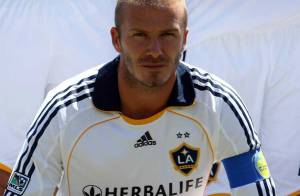 PHOTOS : David Beckham mouille le maillot, puis il l'enlève !