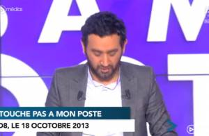 Touche pas à mon poste : Cyril Hanouna s'amuse de l'incident de montage !