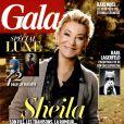 Sheila en couverture du magazine Gala daté du 23 octobre 2013.