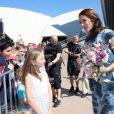 La princesse Mary et le prince Frederik de Danemark ont pris la pose devant l'Opéra de Sydney, dont ils sont venus célébrer le 40e anniversaire, dès leur arrivée en Australie le 24 octobre 2013 pour une visite officielle de quatre jours.