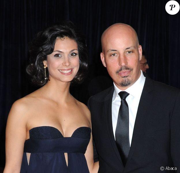 Morena Baccarin et son mari Austin Chick lors du dîner des correspondants de la Maison Blanche le 27 avril 2013 à Washington