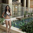 Chalita Yaermwannang (Miss Thailande) - Les candidates au concours Miss Univers à Moscou le 22 octobre 2013.