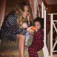Mariah Carey a partagé un cliché de son fils, Moroccan sur Instagram, dimanche 27 octobre 2013.