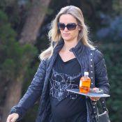 Owen Wilson et Caroline Lindqvist : La future maman détendue sans son amant