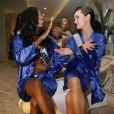 Stéphanie Okwu (Miss Nigéria) - Les participantes à Miss Univers 2013 en shooting photo à Moscou, le 28 octobre 2013