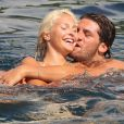 Exclusif - Noemi Letizia et son ex Gugliemo Stendardo en Italie le 7 juillet 2010.