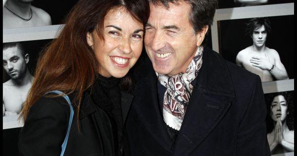 Pin francois cluzet et sa femme narjiss cluzet au d fil - Francois busnel sa femme ...