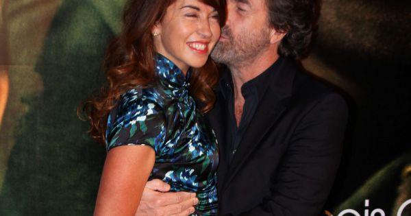 Fran ois cluzet et sa femme narjiss paris le 18 octobre - Francois busnel sa femme ...