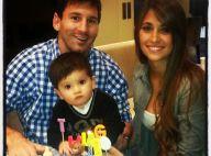 Lionel Messi et Antonella : Thiago a fêté son 1er anniversaire, plein d'amour