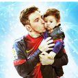 Lionel Messi et son fils Thiago, 1 an, célèbrent la vie : une campagne de sensibilisation sous l'égide de l'UNICEF, à l'automne 2013