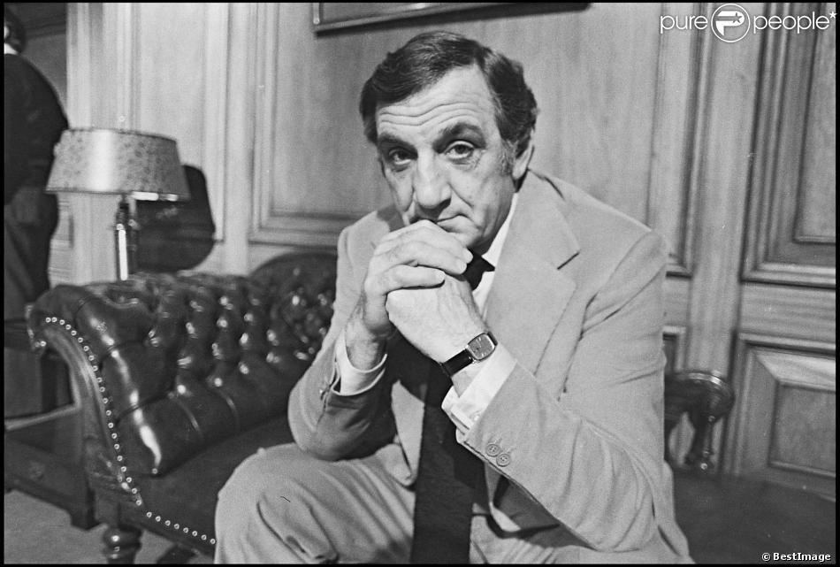 Lino Ventura en tournage (photo d'archive)