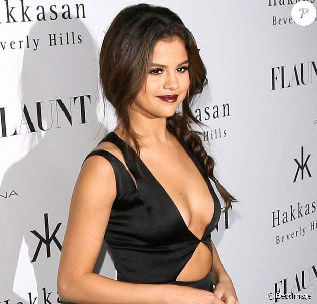 Selena Gomez lors de la soirée Flaunt Magazine à Los Angeles, le 7 novembre 2013.