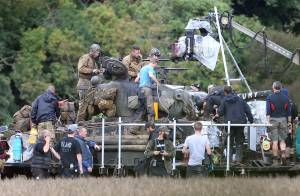 Brad Pitt : Polémique sur le tournage de son film de guerre ''Fury''