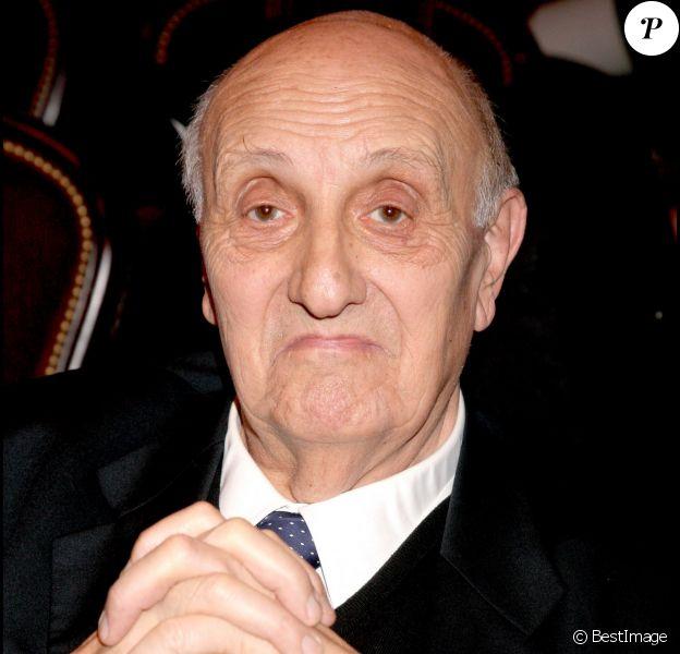 Pierre Tchernia, à Paris, en 2008.