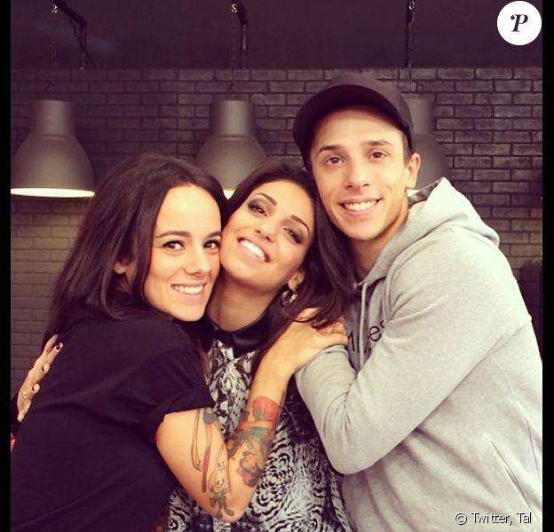 Tal a retrouvé son amie Alizée et le danseur de Danse avec les stars 4, Grégoire Lyonnet.
