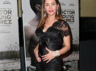 Isabella Orsini, enceinte de son 2e enfant et radieuse au côté de Brahim Asloum