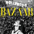 Cindy Crawford en couverture du magazine Harper's Bazaar España. Juin 2013.
