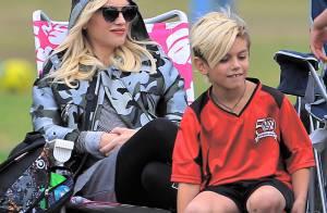Gwen Stefani, enceinte : Spectatrice stylée du match de football de son Kingston