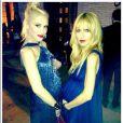 Gwen Stefani et Rachel Zoe, deux stars enceintes lors du gala du Wallis Annenberg Center for the Performing Arts. Beverly Hills, le 17 octobre 2013.