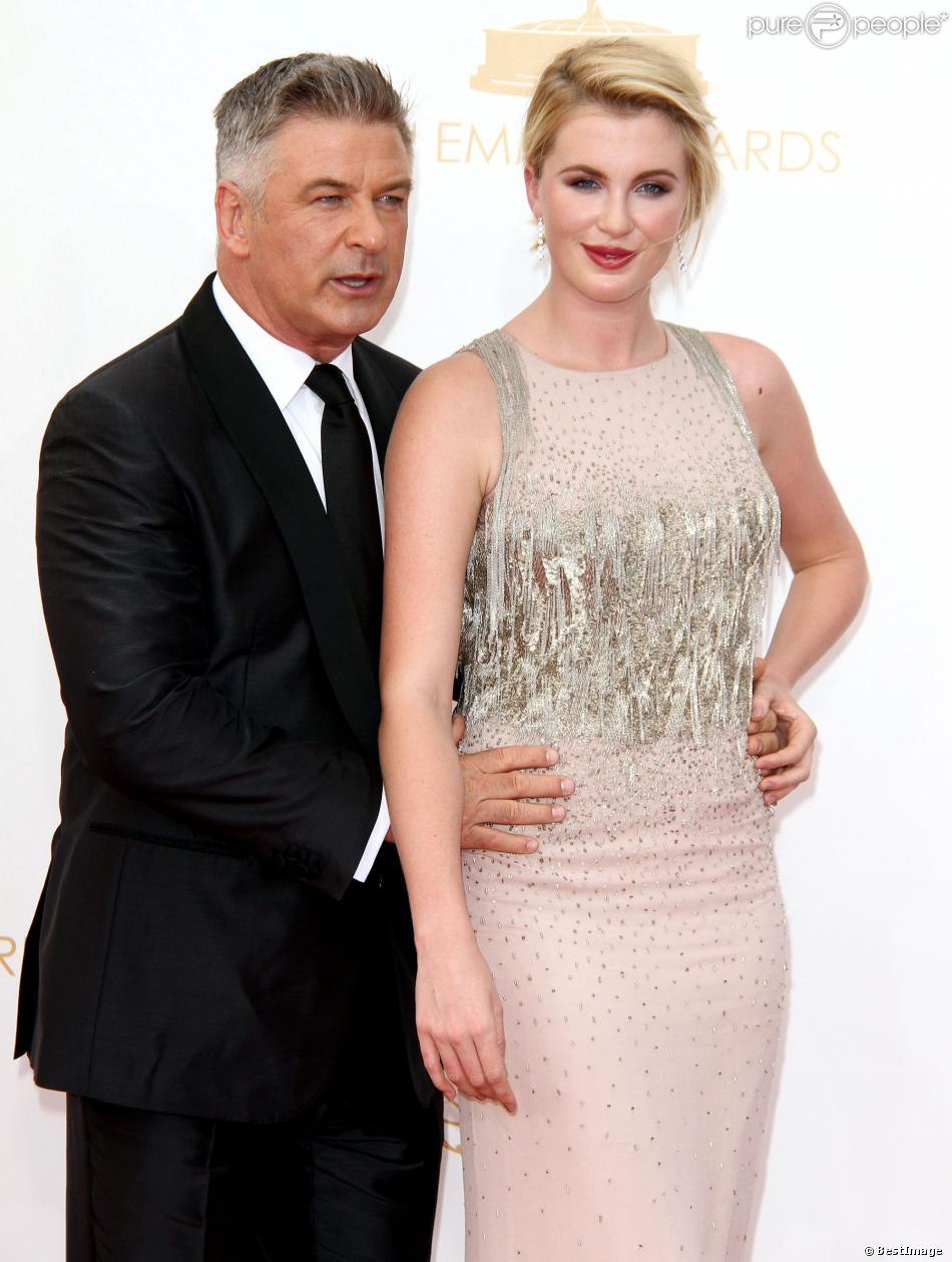 Alec Baldwin et Ireland Baldwin à Los Angeles, le 22 septembre 2013.