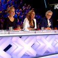"""Le jury lors de la demi-finale de """"La France a un incroyable talent"""" sur M6."""
