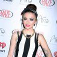 La chanteuse Cher Lloyd à Las Vegas. Le 19 septembre 2013.