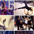 Clara Morgane a posté un montage des photos de ses entraînements sur sa page Twitter.