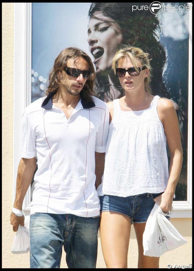 Bob Sinclar et son épouse Ingrid à Saint-Tropez