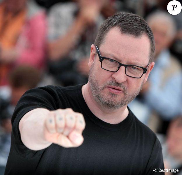 Lars von Trier à Cannes le 18 mai 2011.