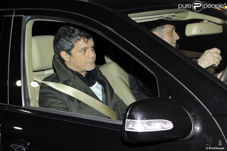 Alejandro Sanzaux funerailles d'Irene Vazquez Romero, l'ex-ministre espagnol José Maria Michavila, à Madrid, le 27 novembre 2013.