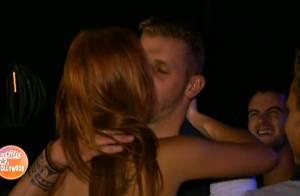 Les Ch'tis à Hollywood : Jordan et Gaëlle s'offrent un premier baiser passionné