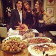Sofia Vergara s'est délectée d'un délicieux repas de Thanksgiving, le 28 novembre 2013.
