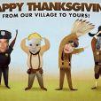 Josh Duhamel et Fergie ont fêté Thanksgiving en famille, le 28 novembre 2013.