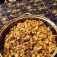 Katie Holmes s'est délectée d'un délicieux repas de Thanksgiving, le 28 novembre 2013.