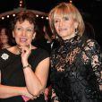 Roselyne Bachelot et Eve Ruggieri  au gala de la Fondation Mimi le 30 novembre 2013.